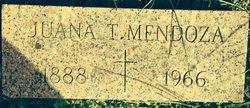 Juana T Mendoza
