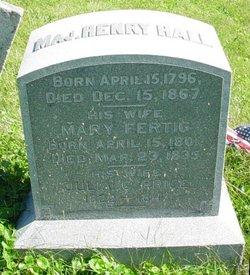 Maj Henry Hall