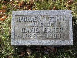 Rachel <I>Getman</I> Baker