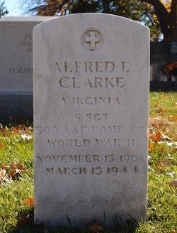 SSGT Alfred E Clarke