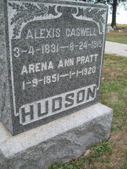 """Alexis Caswell """"A C"""" Hudson"""