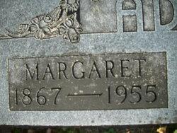 Margaret <I>Briggs</I> Adams