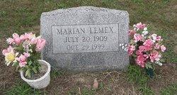 """Marian """"mom-mom"""" <I>Holloway</I> Lemex"""