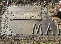 Cecil Eugene Martin
