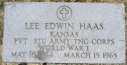 Lee Edwin Haas