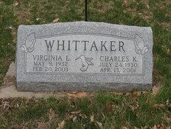 Virginia L. <I>Bowles</I> Whittaker