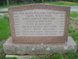 Ann Maria <I>Williams</I> Birchard