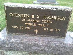Quenten B. X. Thompson