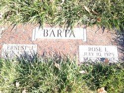 Rose Lucile <I>Tesar</I> Barta