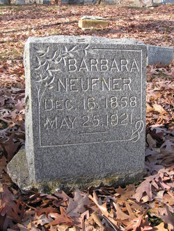 Barbara Anna <I>Fiechtinger</I> Neufner