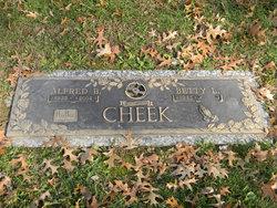 """Alfred B """"Cheeko"""" Cheek"""
