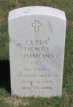Clyde Dewey Simmons