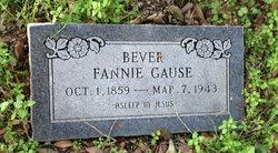 """Margaret Francis """"Fannie"""" <I>Gause</I> Bever"""