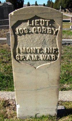 Lieut Joseph Corby