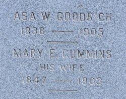 Mary E. <I>Cummins</I> Goodrich