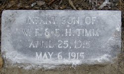 Infant Son Timm