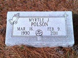 Myrtle J. <I>Osborne</I> Polson