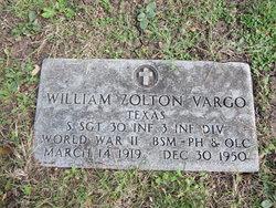 William Zolton Vargo
