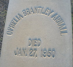 Ophelia <I>Brantley</I> Arnall