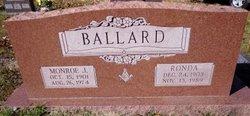 Ronda <I>Plunk</I> Ballard