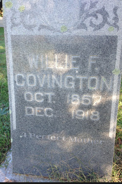 Mrs Willie <I>Gause</I> Covington