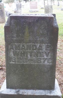 Amanda Elizabeth <I>Allen</I> Whitney