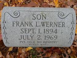 Pvt Frank Lester Werner