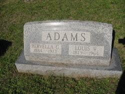 Bervella Gertrude <I>Mayhew</I> Adams