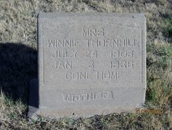 Winnie Effie <I>Green</I> Thornhill