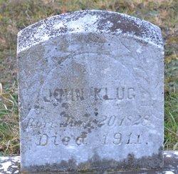 "Johann Adam ""John"" Klug"