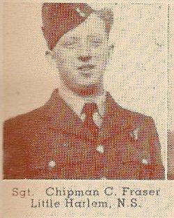 Flight Sergeant (W.Op./Air Gnr.) Chipman Cameron Dawson Fraser