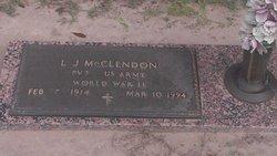 L J McClendon