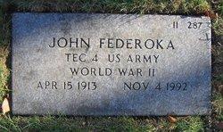John Federoka