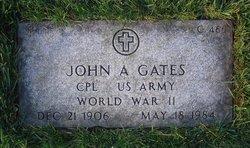 John A Gates