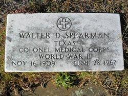 Col Walter Dudley Spearman