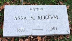 "Anna M. ""Nan"" <I>Daly</I> Ridgeway"