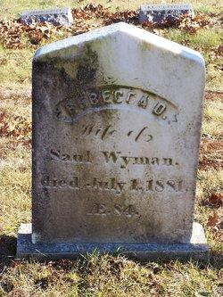 Rebecca <I>Day</I> Wyman