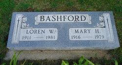 Mary H <I>Schultz</I> Bashford