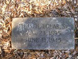 Thomas H Tolar, Sr