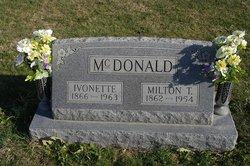 Algalena Ivonett <I>Williams</I> McDonald