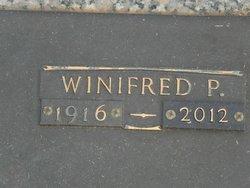 """Winifred """"Winnie"""" <I>Patterson</I> Taylor"""