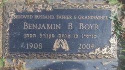 Dr Benjamin B Boyd