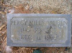 Percy Miles Vaughn