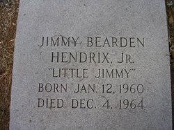 """Jimmy Bearden """"Little Jimmy"""" Hendrix Jr."""