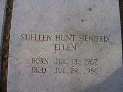 Suellen <I>Hunt</I> Hendrix