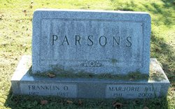Marjorie <I>Ball</I> Parsons