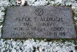Peter S Aldrich