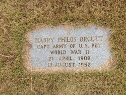Harry Philos Orcutt