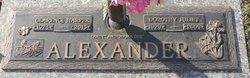 Dorothy Juliet <I>Carter</I> Alexander