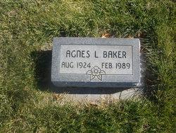 Agnes L. <I>Padgett</I> Baker